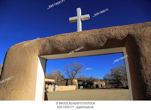 Ranchos de Taos. Taos. New Mexico. USA