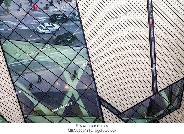 Canada, Ontario, Toronto, Royal Ontario Museum, The Crystal, Daniel Liebeskind, architect