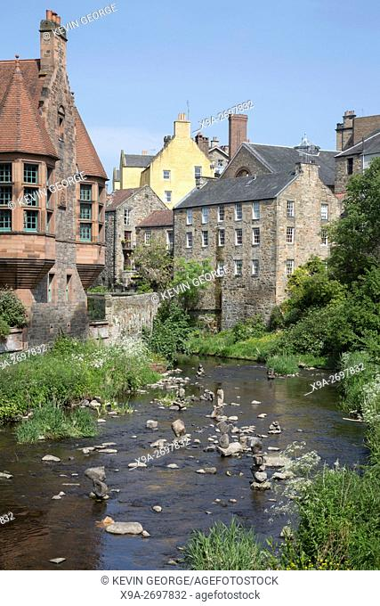 Dean Village and River Leith, Edinburgh, Scotland