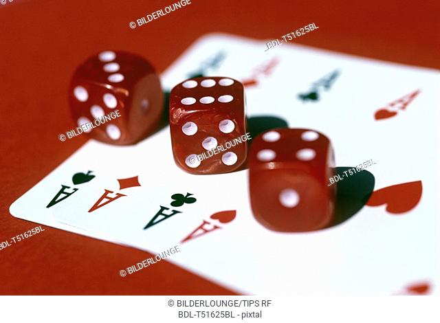 Dices and cards