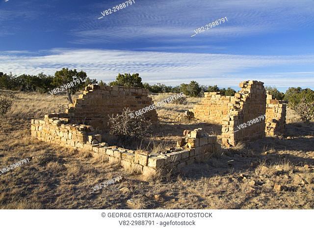 Garrett Homestead ruins, El Malpais National Monument, New Mexico