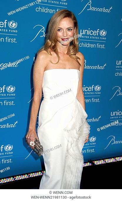 Unicef Snowflake Ball 2014 Featuring: Heather Graham Where: New York, New York, United States When: 02 Dec 2014 Credit: WENN.com