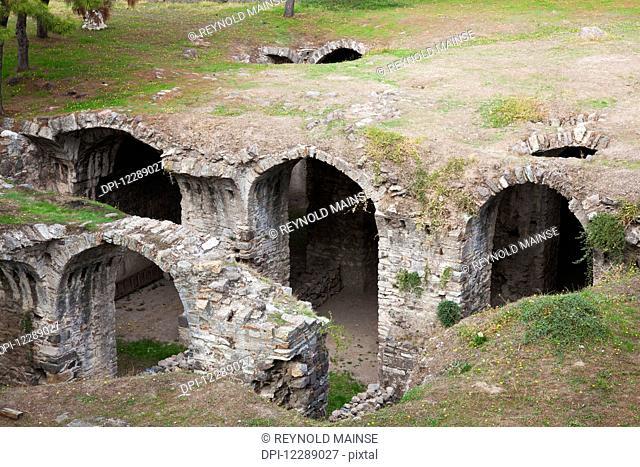 Ancient cistern; Smyrna, Turkey