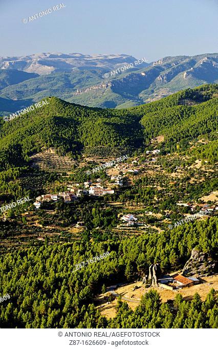 Calares Natural Park, Segura river valley and Gontar, Yeste, Albacete province, Castilla-La Mancha, Spain