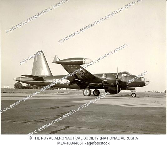 Lockheed (P2V-7) Neptune, 24108, of the Royal Canadian Air Force No 407 Squadron, Greenwood, NS