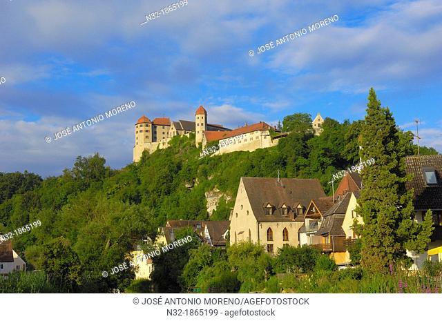 Harburg, Swabia, Harburg castle, Romantic Road, Romantische Strasse, Bavaria, Germany, Europe