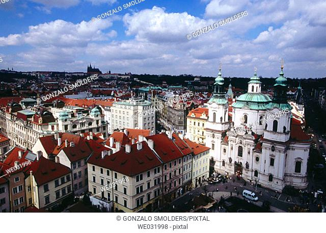 Old Town Square, Prague. Czech Republic