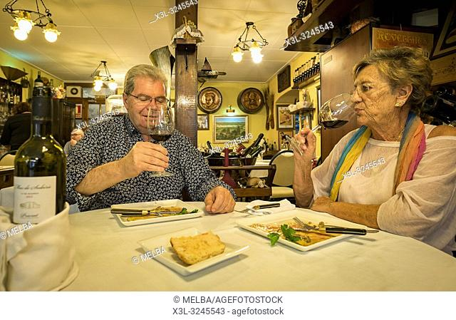 Can Formiga restaurant. Pineda de Mar. Barcelona. Catalunya. Spain
