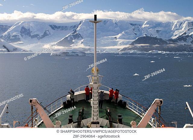 Antarctica, Antarctic Peninsula, Gerlache strait, Antarctic Dream ship