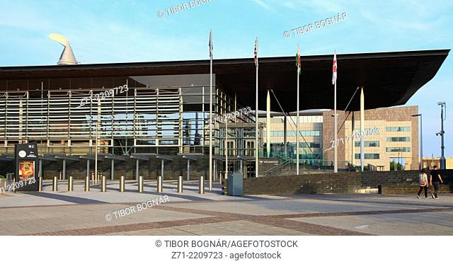 UK, Wales, Cardiff, Bay, National Assembly for Wales, Senedd,