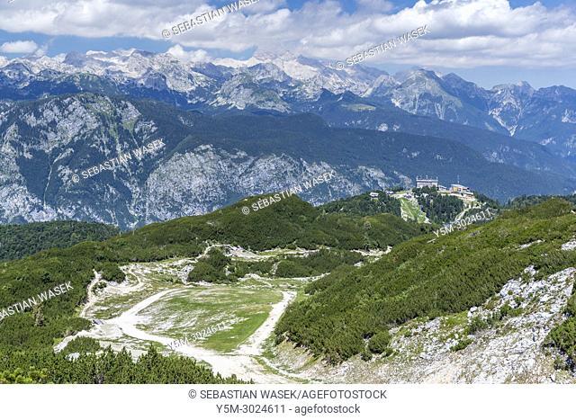 Orlova Glava, Vogel Ski Resort, Triglav National Park, Ukanc, Upper Carniola, Slovenia, Europe