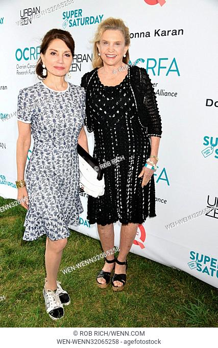 20 Years of Super Saturday event to benefit the Ovarian Cancer Research Fund Alliance at Nova's Ark Project in Water Mill Featuring: Jean Shafiroff