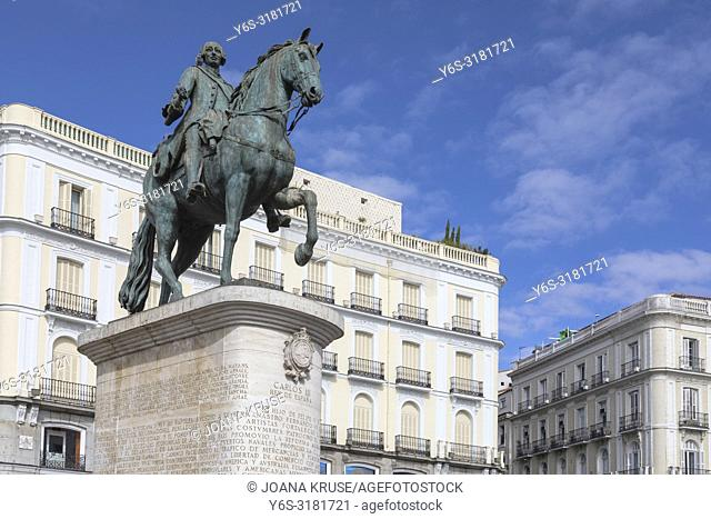 Madrid, Puerta del Sol, Spain, Europe