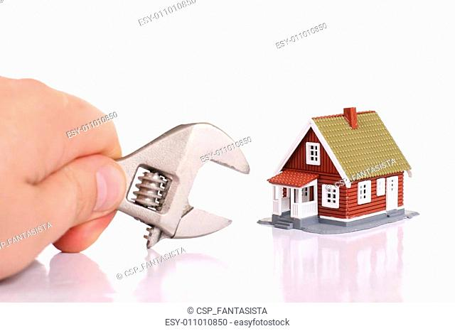 Fixing house problems concept