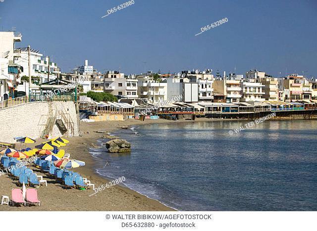 Town Beach. Hersonissos. Iraklio Province. Crete, Greece