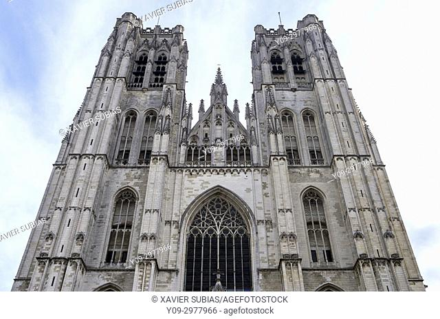 St. Michael and Gudula Cathedral, Brussels, Belgium