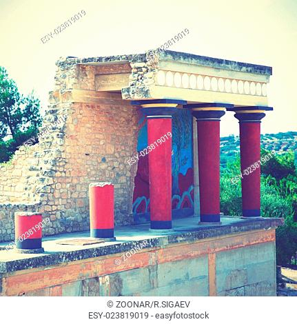 Ruins of The Knossos Palace