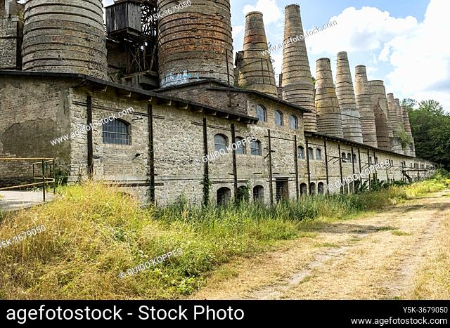 Ruderdsdorf, Germany. Just outside Berlin a 19th century stone and raw materials processing factory turned into a museum