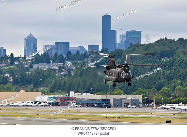 Military Helicopter Landing