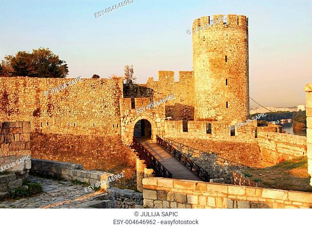 Belgrade fortress gate