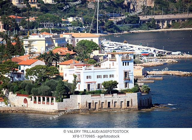 The Villa Kerylos, Beaulieu-sur-Mer, Alpes-Maritimes, Provence-Alpes-Côte d'Azur, France
