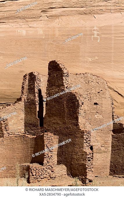 White House Ruins, Canyon de Chelly National Monument, Chinle, Arizona, USA