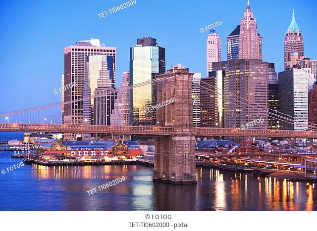 USA, New York City, Cityscape