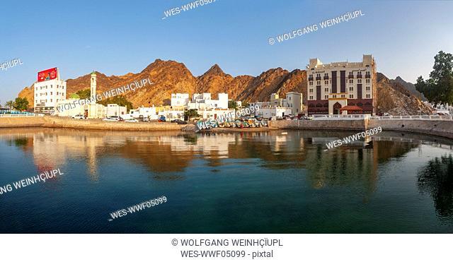 Fishing harbour, Matrah, Muscat, Oman