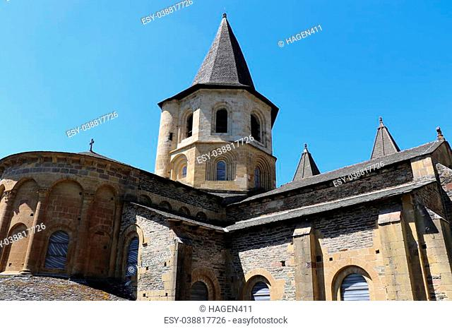 The village of Conques, France