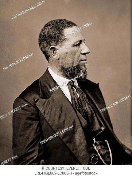 Hiram Revels 1822-1901 was the first of only four African Americans to serve in the U.S. Senate. In 1870 he was elected to finish the term of former Confederate...