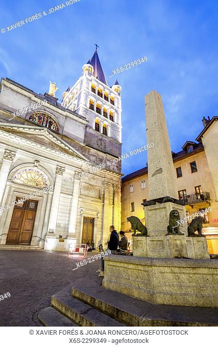 Église Notre-Dame-de-Liesse in Annecy, Haute-Savoie, Rhône-Alpes, France