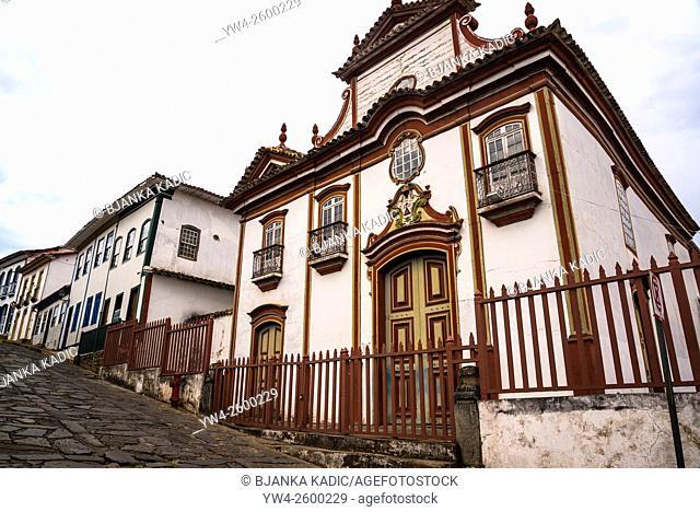 Igreja Nossa Senhora do Carmo, Diamantina, Minas Gerais, Brazil
