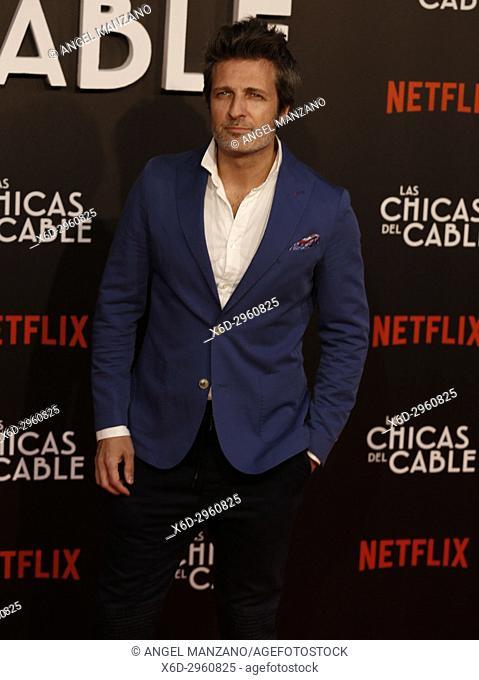 Premiere of the Netflix series Las chicas del cable.Jesus Olmedo.Madrid. 27/04/2017.(Photo by Angel Manzano).