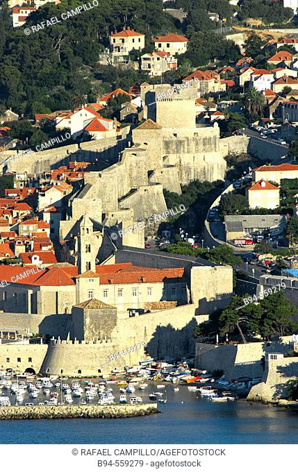Walls. Dubrovnik. Croatia