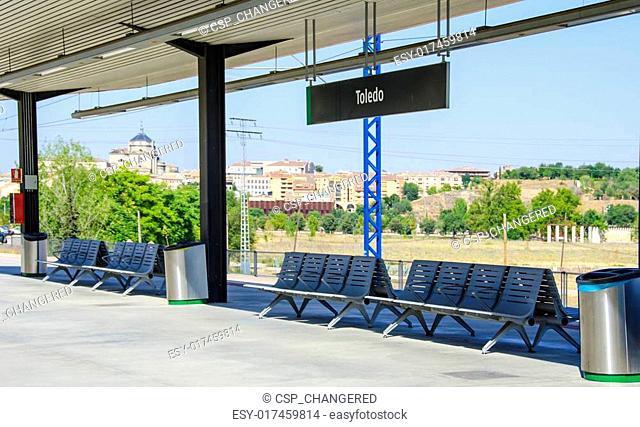 Train Station Toledo, Spain