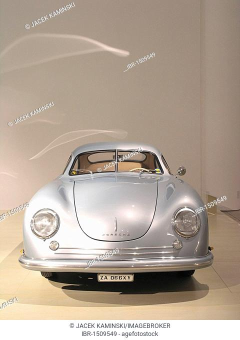 Porsche 356, Mitomacchina exhibition, Museum of Modern Art, MART, Rovereto, Italy, Europe