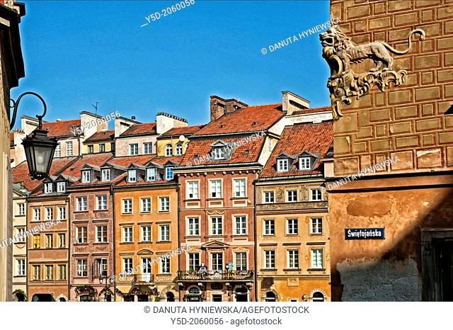 Old Town Market Place, Warsaw, Poland, Europe, UNESCO World Heritage
