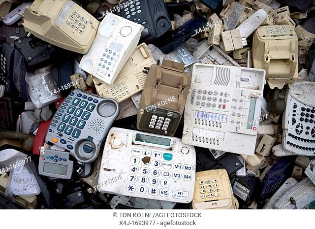 Recycling of telephones All municipalities in The Netherlands are required to provide known collection points for recyclable and/or hazardous materials All...