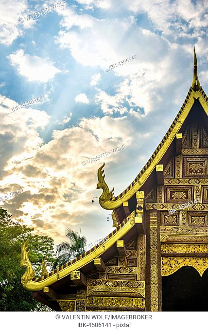Phra Singh Temple, Chiang Mai, Chiang Mai Province, Northern Thailand, Thailand