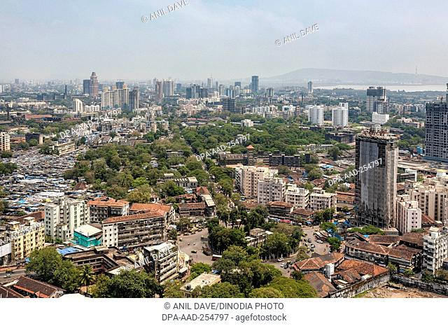 Building, satrasta, mumbai, maharashtra, india, asia