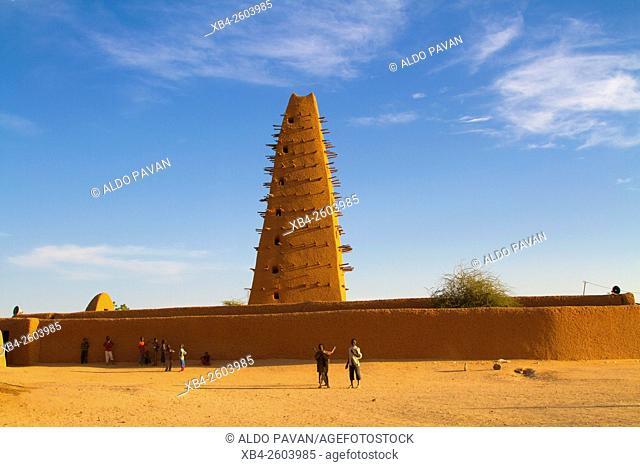 Niger, Agadez, Great Mosque