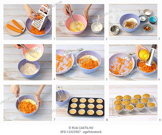 How to make carrot muffins