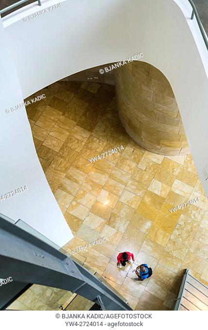 Guggenheim Museum, designed by Frank Gehry, Bilbao, Basque Country, Spain