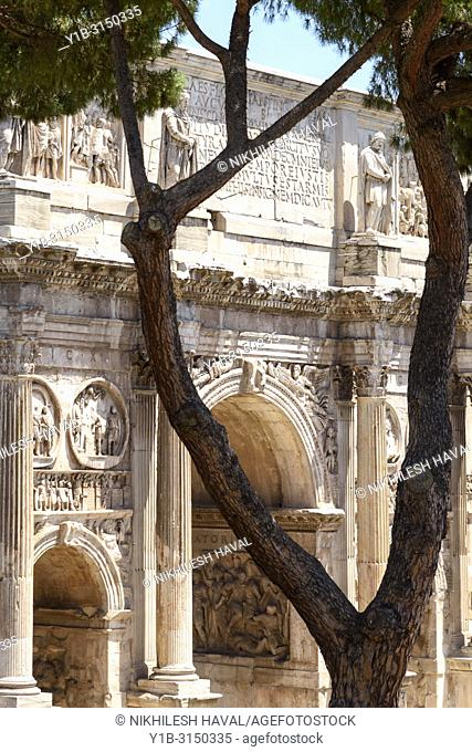Arch of Constantine, South Side, Rome, Italy