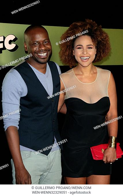 AMC Networks 69th Primetime Emmy Awards After-Party Celebration at BOA Steakhouse Featuring: Malcolm Barrett Where: Los Angeles, California