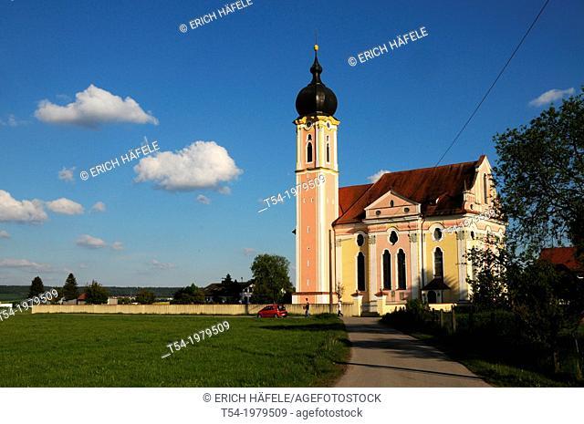 Baroque church in Pless