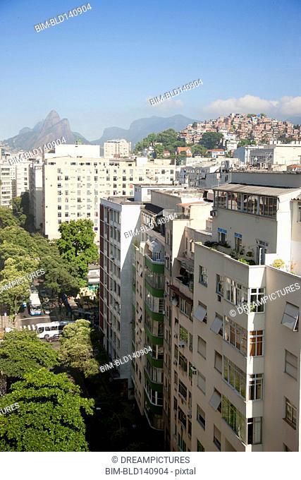 Rio de Janeiro cityscape, Rio, Brazil