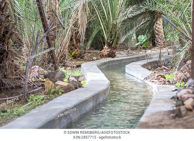 United Arab Emirates - Centuries old, the irrigation water-sharing system in Abu Dhabi's Al Ain Oasis is part of the largest oasis in the UAE
