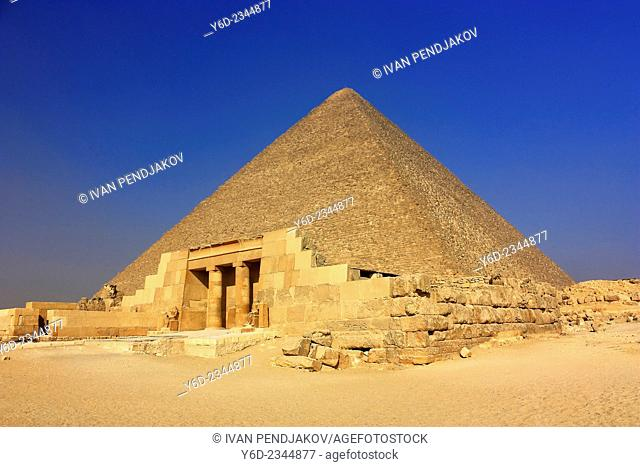 The Great Pyramid of Cheops, Giza, Egypt