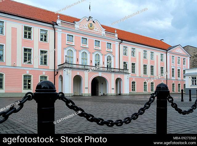 Estonia, Tallinn, Parliament